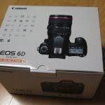 一眼レフカメラを買った!CANONのフルサイズ機!EOS 6DとEF 24-105 F4L IS USM!