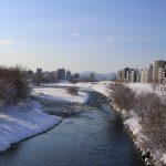 大雪のあとは空気が澄んでいい天気!