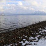 3月の支笏湖に行ってみた