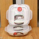 冷凍ご飯づくりが捗る!100均で売ってる冷凍容器、ナカヤの「ふっくらパック」がとても便利!